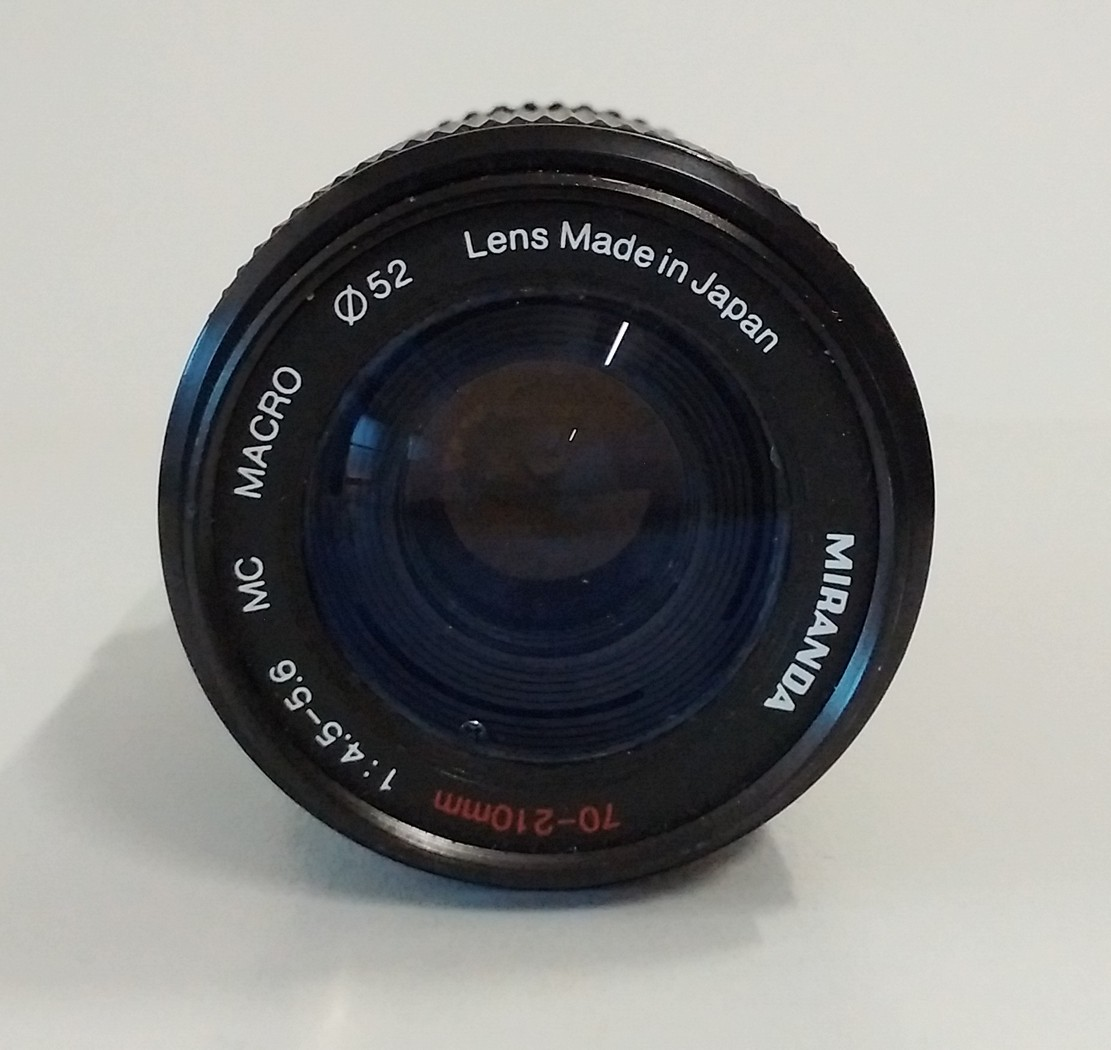 Details about Miranda MC Macro 70-210mm f/4 5-5 6 Zoom Camera Lens Φ52 -  Pentax K A/R